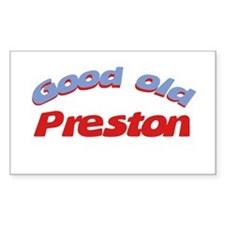 Good Old Preston Rectangle Decal