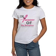 BreastCancerMemoryDaughter Tee