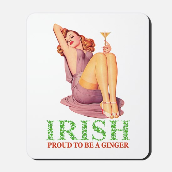 PROUD TO BE A GINGER Mousepad