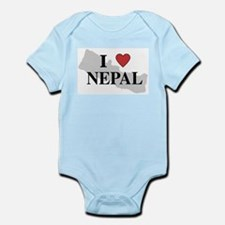 I Love Nepal Infant Creeper