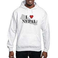 I Love Nepal Hoodie