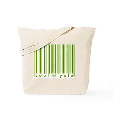 Green Cool @ Yule Urban Chic Tote Bag