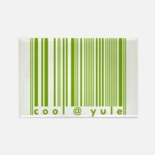 Green Cool @ Yule Urban Chic Rectangle Magnet