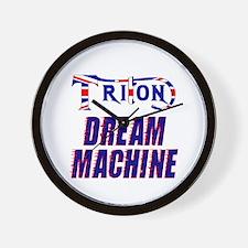 TRITON Dream Machine Wall Clock