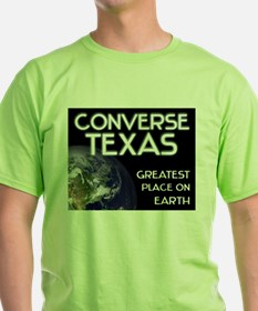 converse texas - greatest place on earth T-Shirt