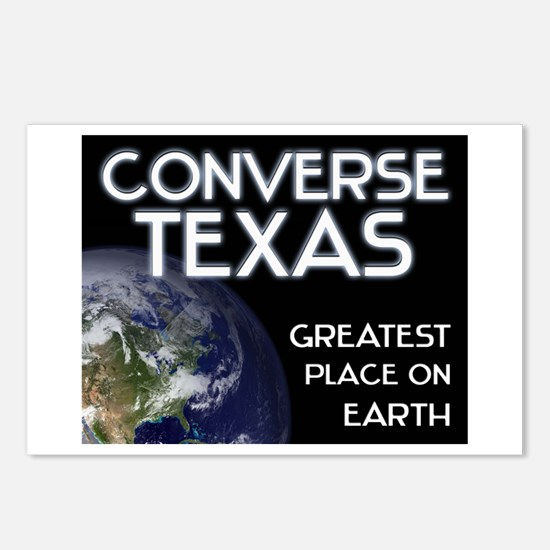 converse texas - greatest place on earth Postcards