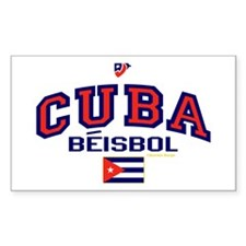 CU Cuba Baseball Beisbol Decal