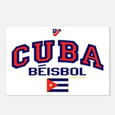 CU Cuba Baseball Beisbol Postcards (Package of 8)