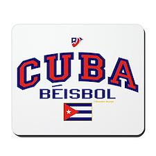 CU Cuba Baseball Beisbol Mousepad