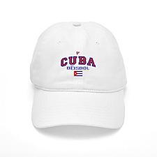 CU Cuba Baseball Beisbol Baseball Cap