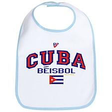 CU Cuba Baseball Beisbol Bib