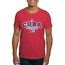 CU Cuba Baseball Beisbol T-Shirt