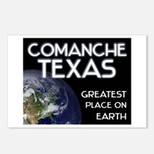 comanche texas - greatest place on earth Postcards