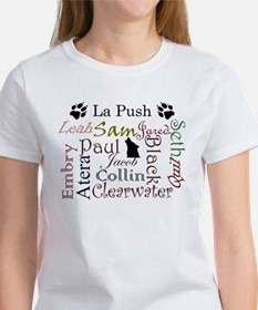 La Push Words Women's T-Shirt