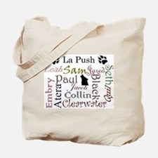 La Push Words Tote Bag