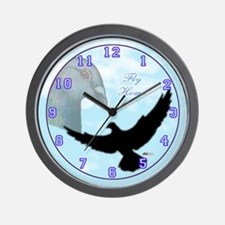 Fly Home Pigeon Wall Clock