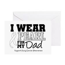 IWearPearl Dad Greeting Card