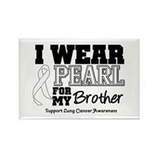 IWearPearl Brother Rectangle Magnet