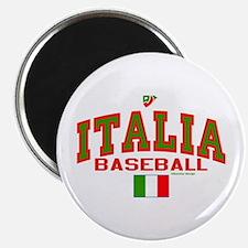"IT Italy Italia Baseball 2.25"" Magnet (10 pack)"