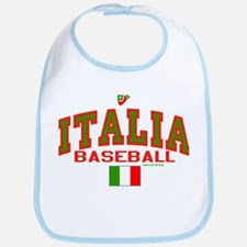 IT Italy Italia Baseball Bib