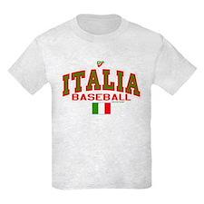 IT Italy Italia Baseball T-Shirt