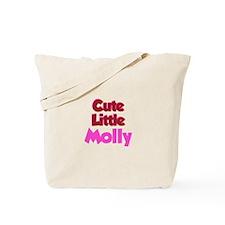 Cute Little Molly Tote Bag