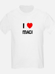 I LOVE MACI Kids T-Shirt