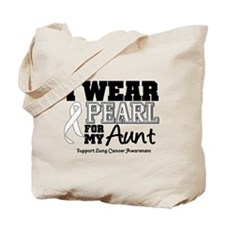 IWearPearl Aunt Tote Bag