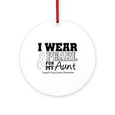 IWearPearl Aunt Ornament (Round)
