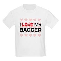 I Love My Bagger T-Shirt