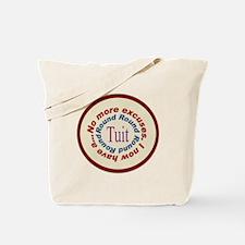 Round Tuit Tote Bag