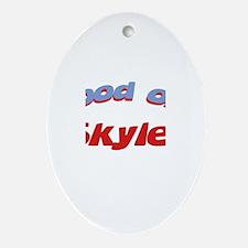 Good Old Skyler Oval Ornament