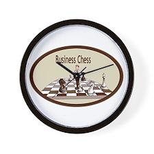 Business Chess Wall Clock