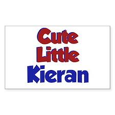 Cute Little Kieran Rectangle Decal
