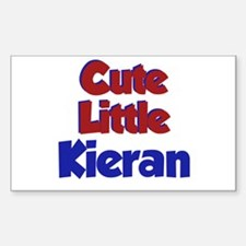 Cute Little Kieran Rectangle Decal