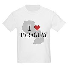 I Love Paraguay Kids T-Shirt