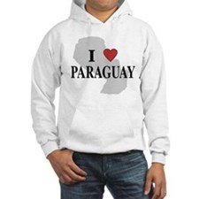 I Love Paraguay Hoodie