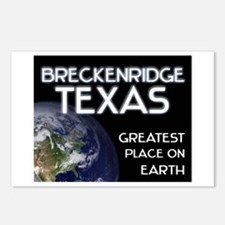 breckenridge texas - greatest place on earth Postc