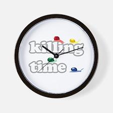 Snails Killing Time Wall Clock