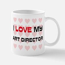 I Love My Art Director Mug
