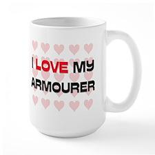 I Love My Armourer Mug