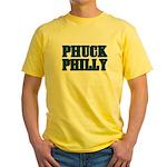 Phuck Philly 1 Yellow T-Shirt