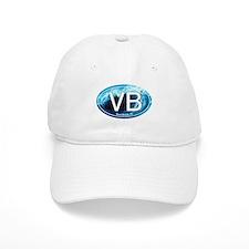 VB Vero Beach Wave Oval Baseball Cap