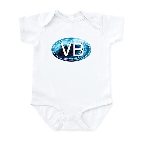 VB Vanderbilt Beach Wave Oval Infant Bodysuit