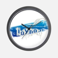 This Is Joypod Grunge Wall Clock