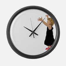 Cool Cuddle Large Wall Clock