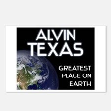 alvin texas - greatest place on earth Postcards (P