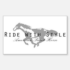 Paint Horse Rectangle Decal