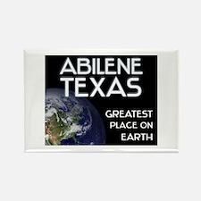 abilene texas - greatest place on earth Rectangle