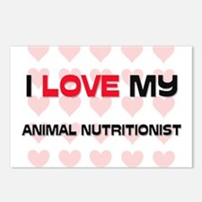 I Love My Animal Nutritionist Postcards (Package o